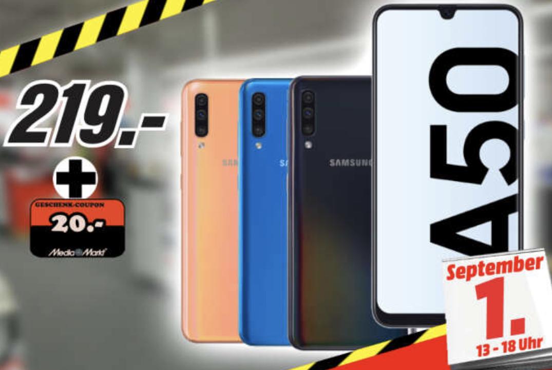 Lokal MediaMarkt Neuwied: Samsung Galaxy A50 DualSim 128GB ...