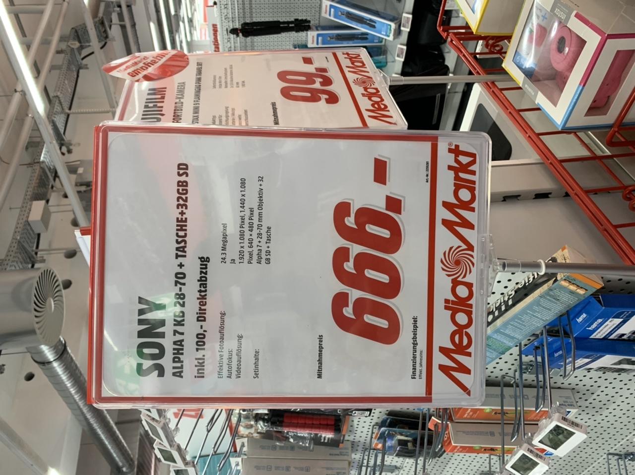 Mediamarkt Sd Karte.Lokal Braunschweig Mediamarkt Sony Alpha 7 Kb 28 70