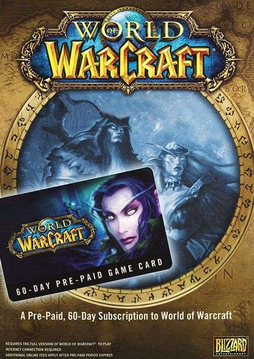 World of Warcraft - 60 Tage Gamecard