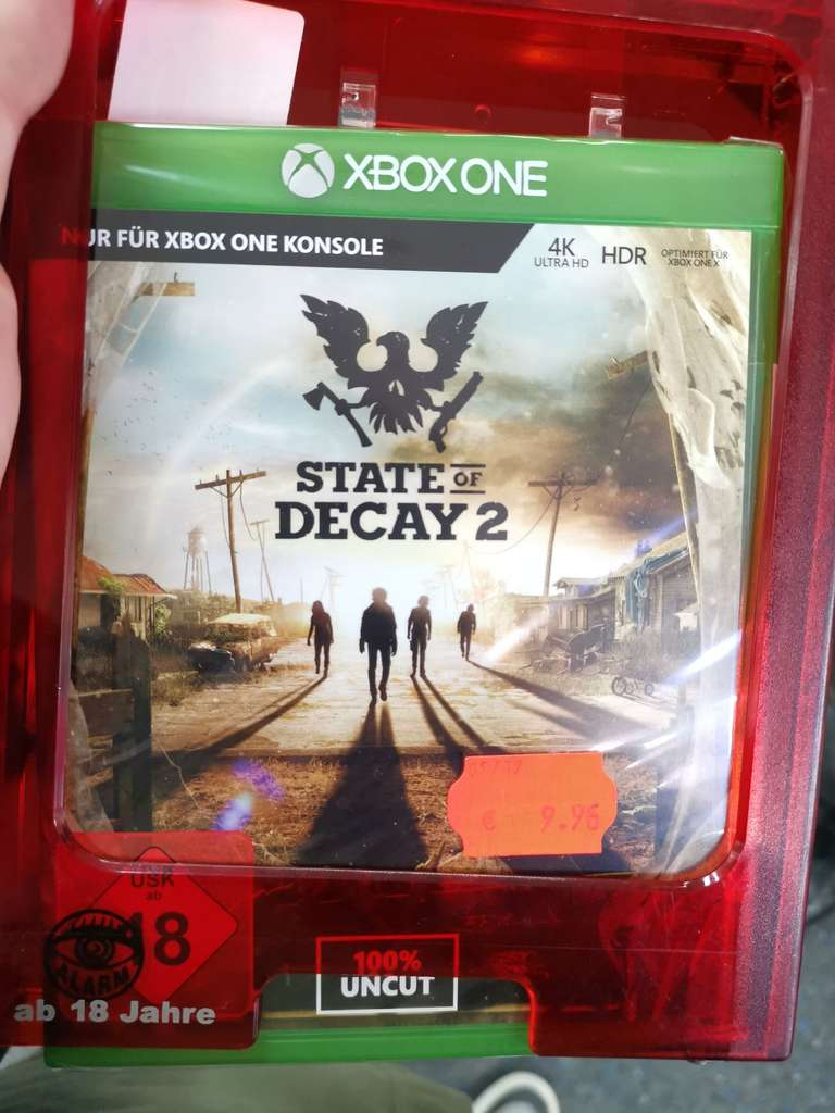 lokal saturn dortmund city state of decay 2 xbox one. Black Bedroom Furniture Sets. Home Design Ideas