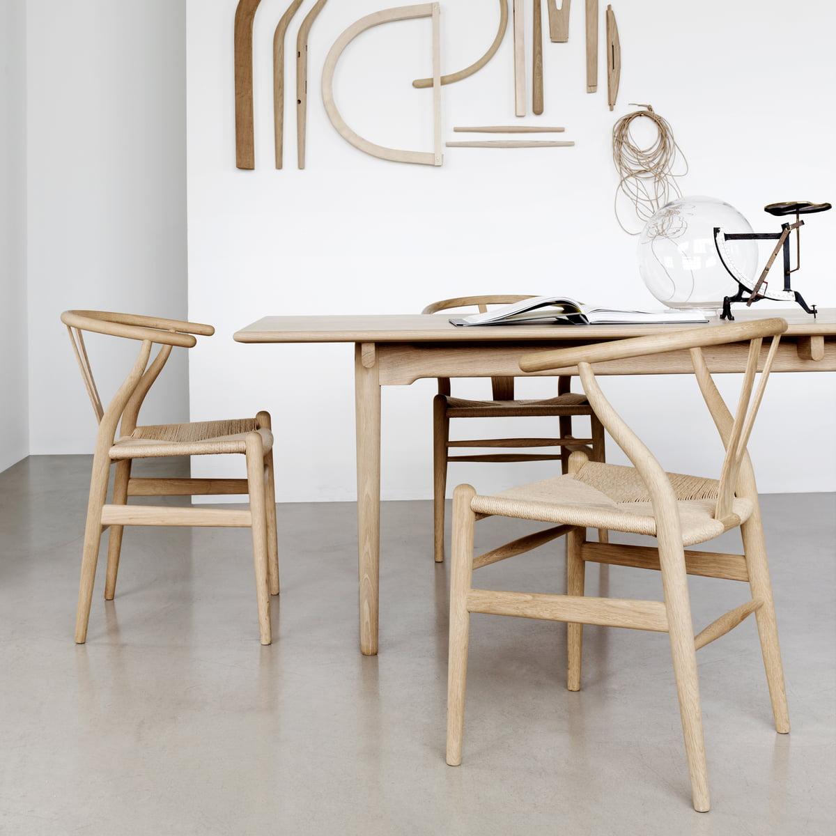 Design-Klassiker: Wishbone / Y-Chair von Hans J. Wegner, zusätzlich das gesamte Carl Hansen Sortiment mit 20 % Rabatt [Connox plus]