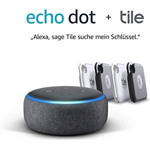 Amazon Echo Dot Tile Bundle Angebote Mydealz De