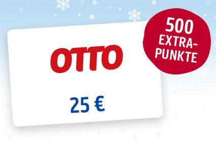 [Payback] 25€ Otto-Gutschein mit 2,22€ Rabatt und 500 ...