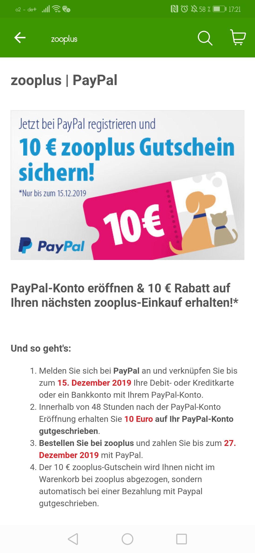 Paypal Neukunden Gutschein