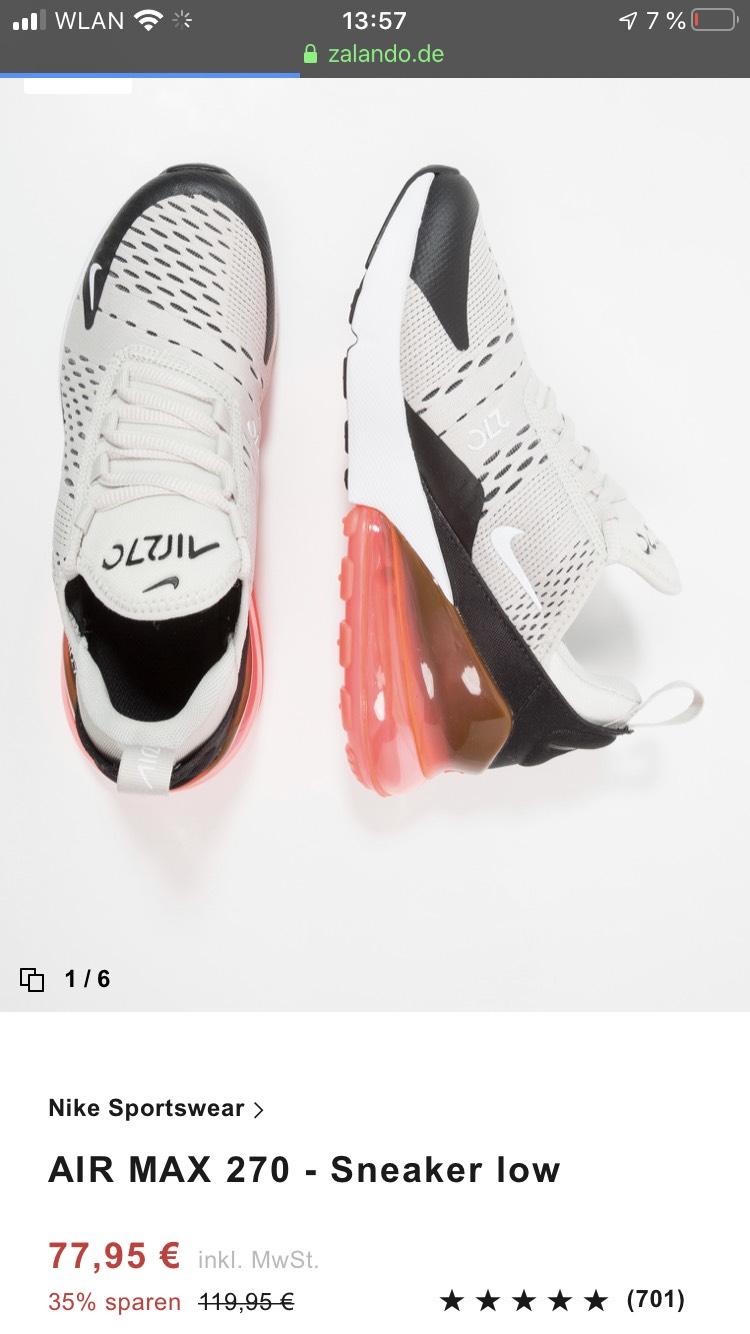 Nike Air Max 270 Sneaker low für Kinder