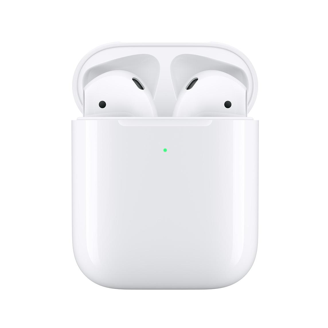 conrad apple airpods 2 generation mit wireless qi charging case mrxj2zm a bluetooth