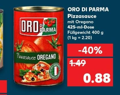 Kaufland Oro Di Parma Fur 0 88 Euro Mydealz De