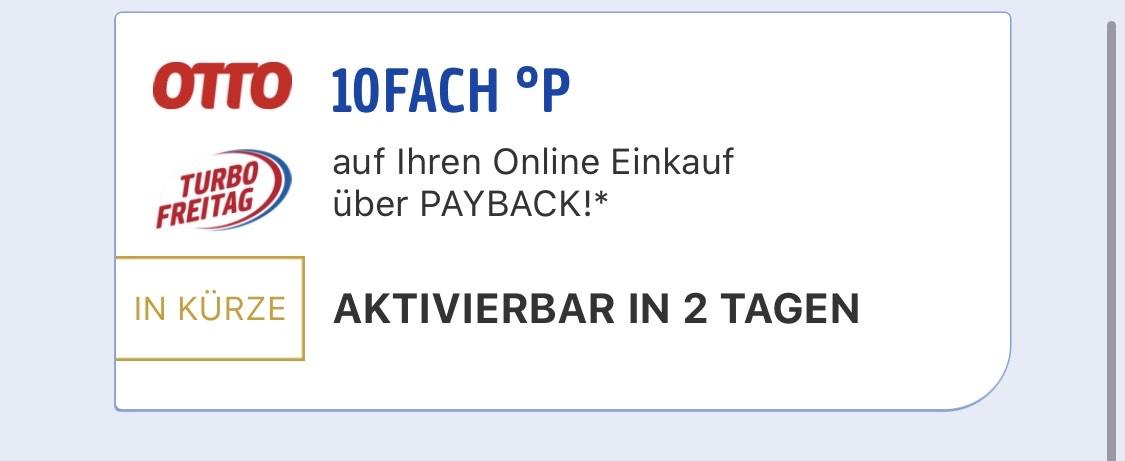 Payback OTTO 10 Fache Punkte - mydealz.de