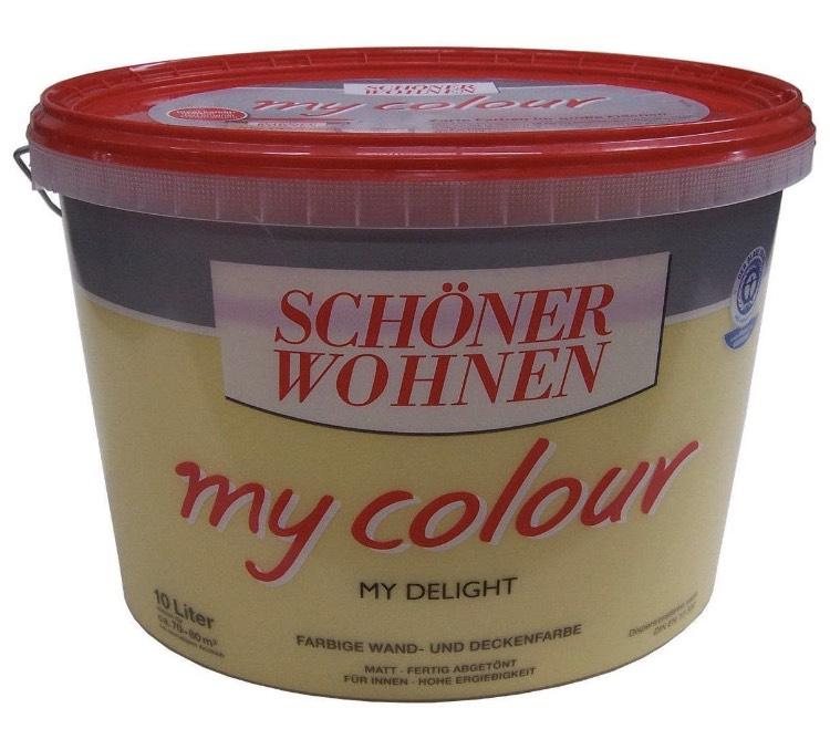 10 Liter SCHÖNER WOHNEN My Colour Wandfarbe