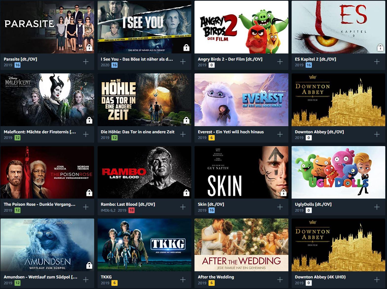 Amazon Prime Filme Leihen