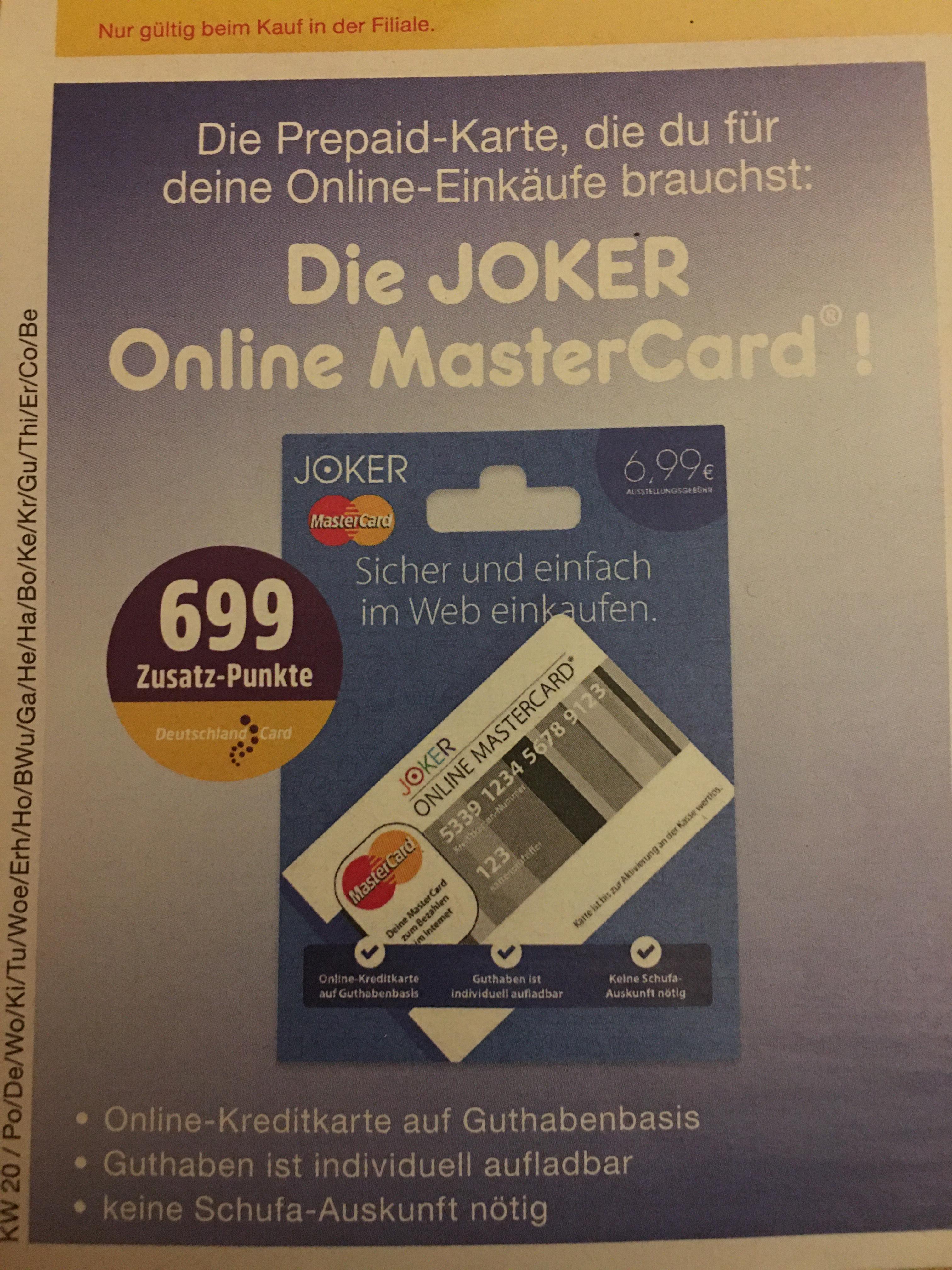 Joker Online Mastercard Aktivieren