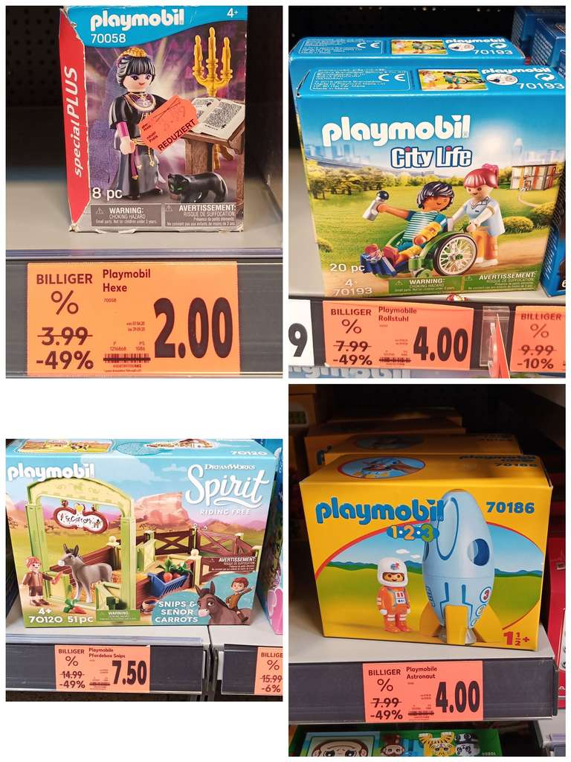 LOKAL // Kaufland Chemnitz-Hutholz // Playmobil z.B