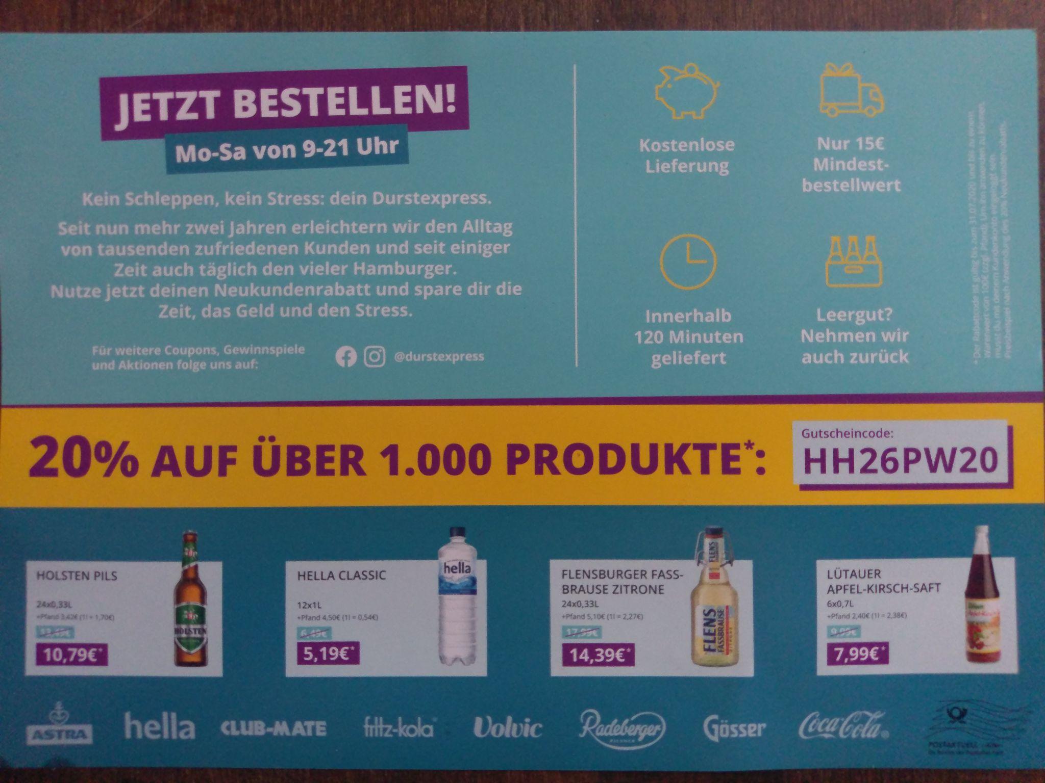 Durstexpress Hamburg