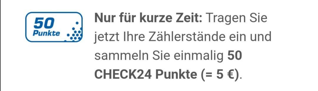 Check24 Punkte