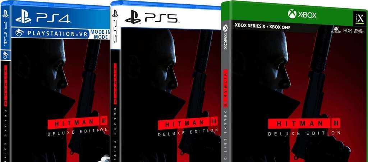 Hitman 3 Deluxe Edition für Playstation 4/5, Xbox One/ Series X|S - mydealz.de
