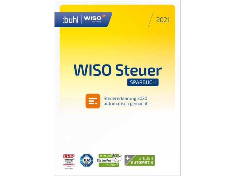 WISO steuer:Sparbuch 2021 (für Steuerjahr 2020)   PC ...