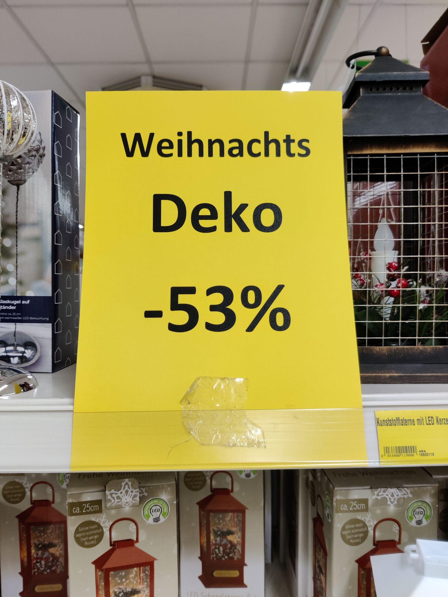 Lokal -53% auf Weihnachtsdeko bei Thomas Philipps ...