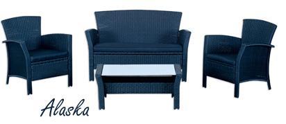angebot des monats lounge set alaska netto. Black Bedroom Furniture Sets. Home Design Ideas