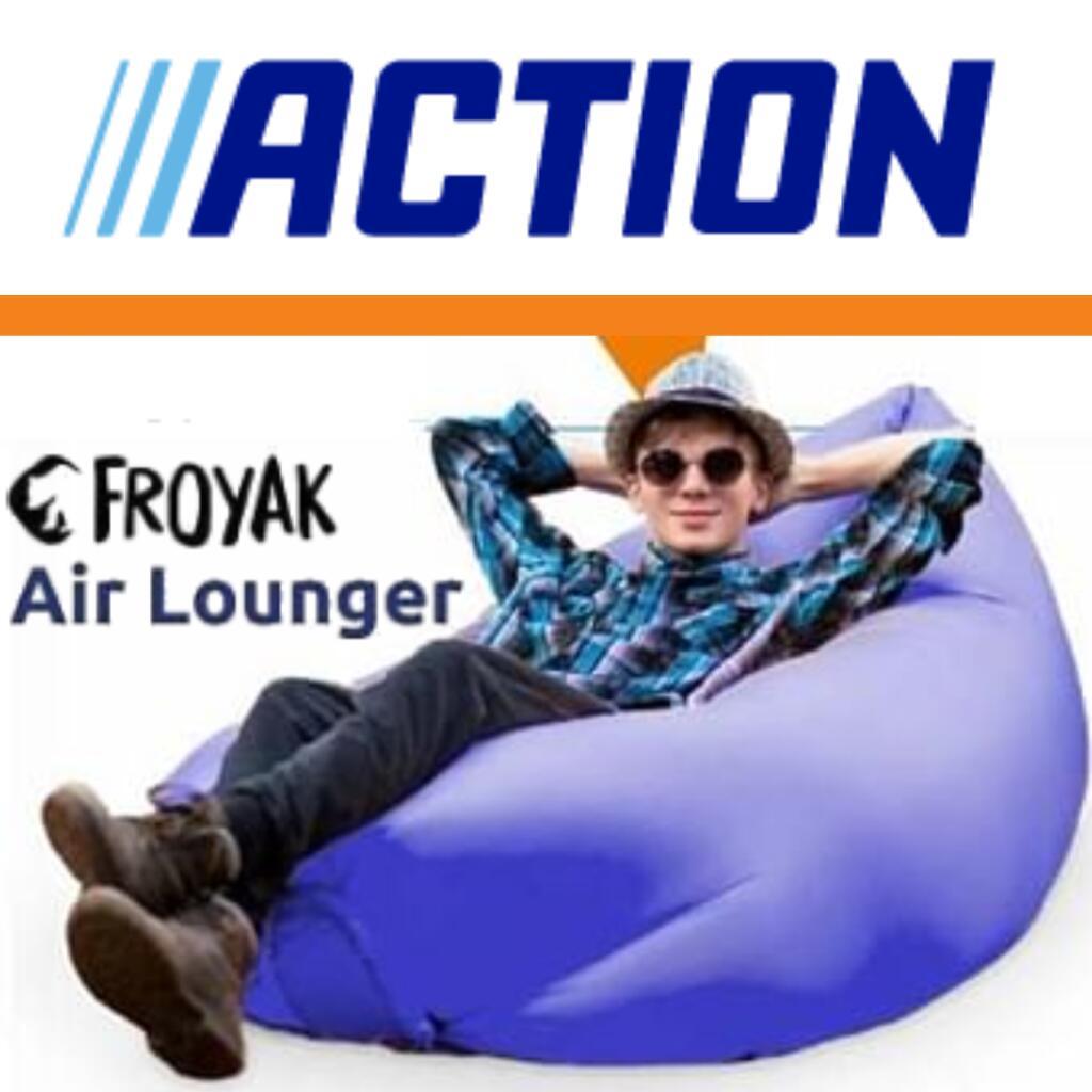 Air lounger lidl aufblasen