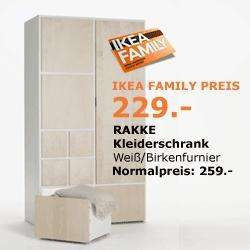 ikea walldorf rakke kleiderschrank f r 125 nur am 2. Black Bedroom Furniture Sets. Home Design Ideas
