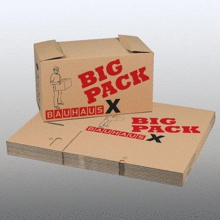 bauhaus big pack x umzugkartons 10er pack ca 85l. Black Bedroom Furniture Sets. Home Design Ideas