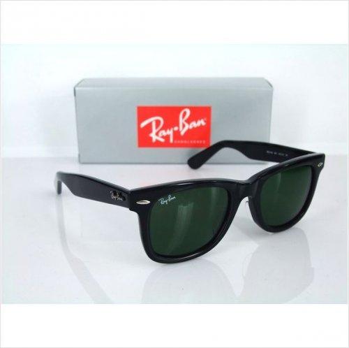 ray ban 2140 wayfarer black sonnenbrille schwarz 45 01. Black Bedroom Furniture Sets. Home Design Ideas