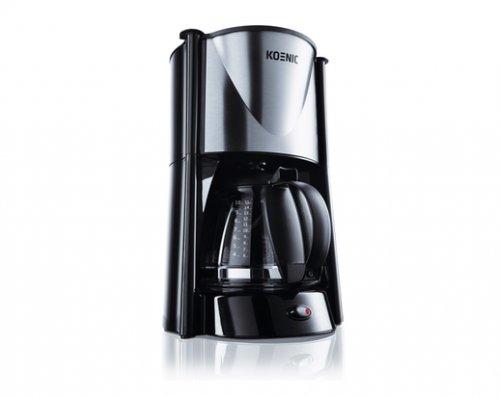 lokal koenic kcm 100 schwarz edelstahl kaffeemaschine saturn jena. Black Bedroom Furniture Sets. Home Design Ideas