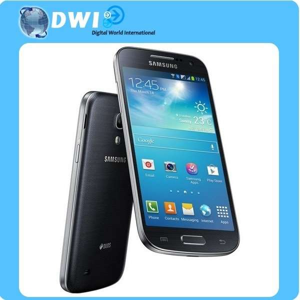 samsung galaxy s4 mini i9192 8gb dual sim black. Black Bedroom Furniture Sets. Home Design Ideas