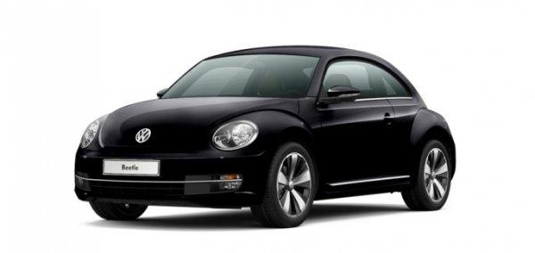 vw beetle 1 2 tsi mit ordentlicher ausstattung in schwarz. Black Bedroom Furniture Sets. Home Design Ideas