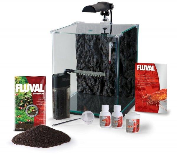 aquarium fluval nano cube 30l komplettset garnelen. Black Bedroom Furniture Sets. Home Design Ideas