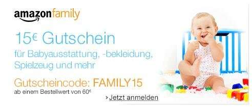 amazon family gutscheincode
