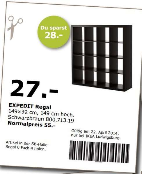 ikea ludwigsburg expedit regal 4x4 schwarz und wei f r. Black Bedroom Furniture Sets. Home Design Ideas