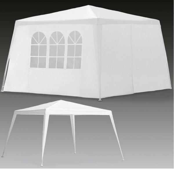 ebay wow festzelt partyzelt gartenzelt gartenpavillon miami 3x3 m mit seitenteilen. Black Bedroom Furniture Sets. Home Design Ideas