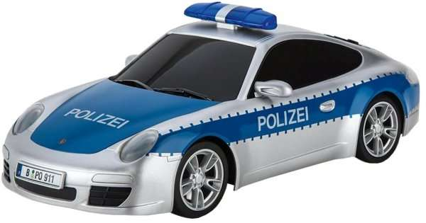 original carrera rc 1 16 polizei ferngesteuertes auto f r. Black Bedroom Furniture Sets. Home Design Ideas