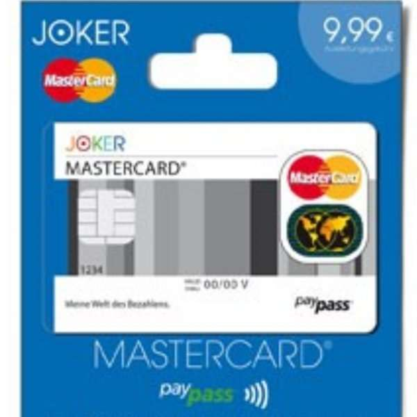 Joker Aufladekarte