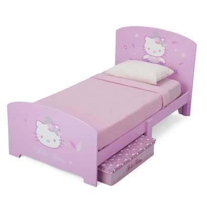 hello kitty kinderbett 70x140 disney hello kitty. Black Bedroom Furniture Sets. Home Design Ideas