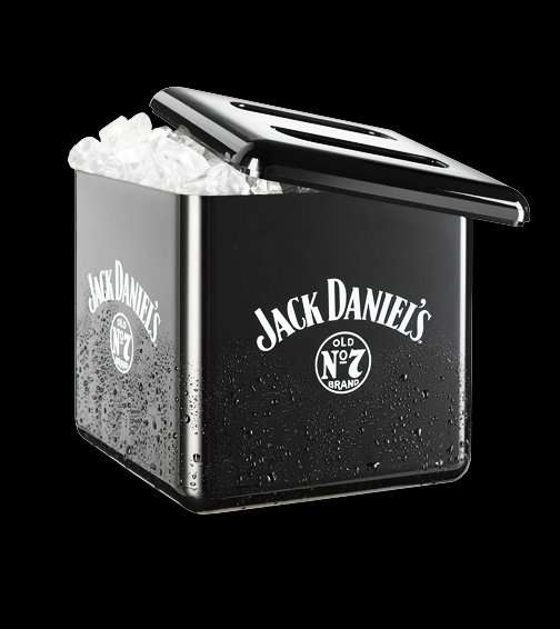 eisw rfelbeh lter eisbox jack daniels 4 liter. Black Bedroom Furniture Sets. Home Design Ideas