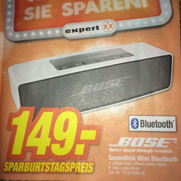 lokal hem expert bose soundlink mini bluetooth lautsprecher. Black Bedroom Furniture Sets. Home Design Ideas