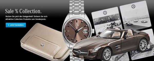 Sale im mercedes benz online shop for Mercedes benz store online