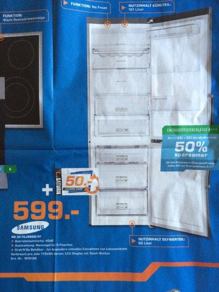 lokal paderborn samsung rb32fejnbss a inkl 50 euro gutschein. Black Bedroom Furniture Sets. Home Design Ideas