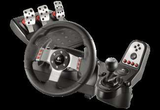 logitech g27 racing wheel f r 179 media markt online. Black Bedroom Furniture Sets. Home Design Ideas