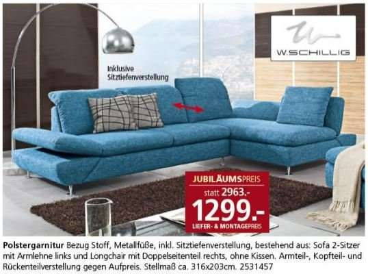 lokal segm ller sofa w schillig taoo preis ab. Black Bedroom Furniture Sets. Home Design Ideas