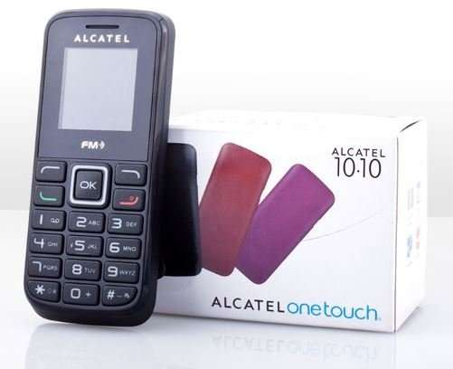 notfallhandy alcatel one touch 1010x handy in schwarz groupon. Black Bedroom Furniture Sets. Home Design Ideas