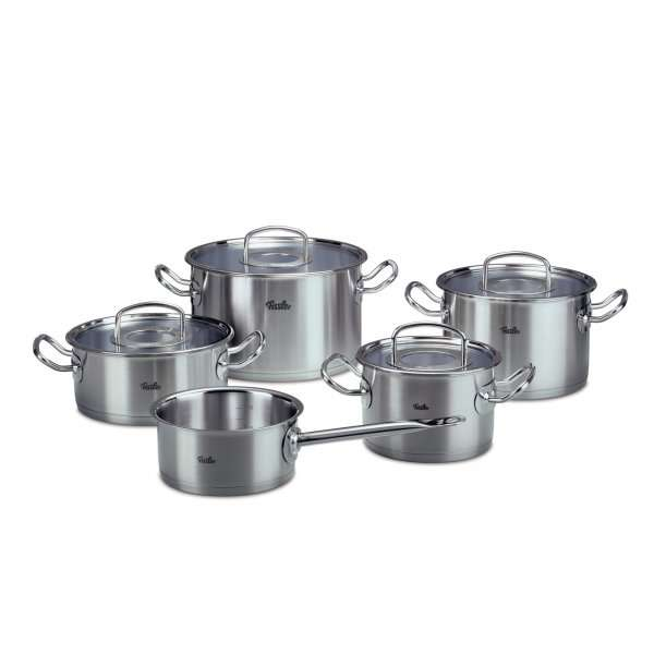 top fissler original profi collection kochgeschirrset 5 tlg. Black Bedroom Furniture Sets. Home Design Ideas