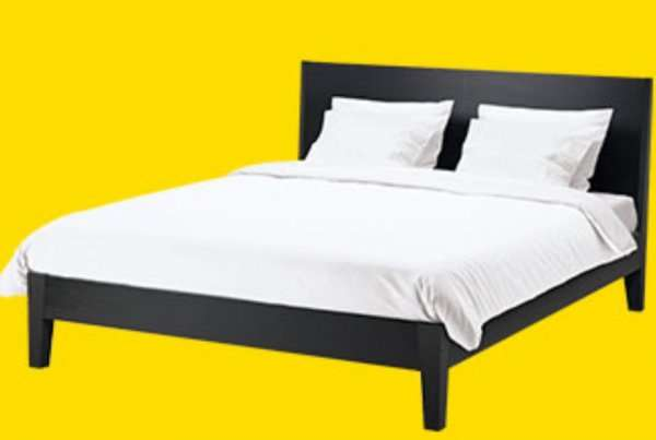 ikea nordli bettgestell 180 x 200 cm ikea midsommar. Black Bedroom Furniture Sets. Home Design Ideas