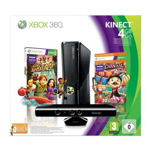 xbox 4gb kinect bundle 4 games media markt wilhelmshaven. Black Bedroom Furniture Sets. Home Design Ideas