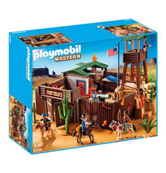 galeria playmobil gro es western fort 5245. Black Bedroom Furniture Sets. Home Design Ideas