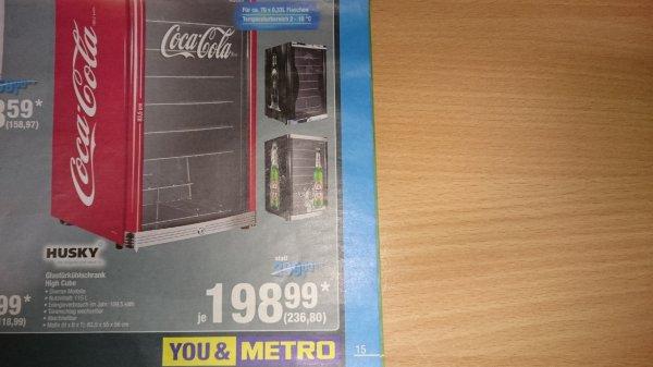 Kühlschrank Coco Cola : 236 80 brutto lokal metro augsburg husky high cube kühlschrank 115 l