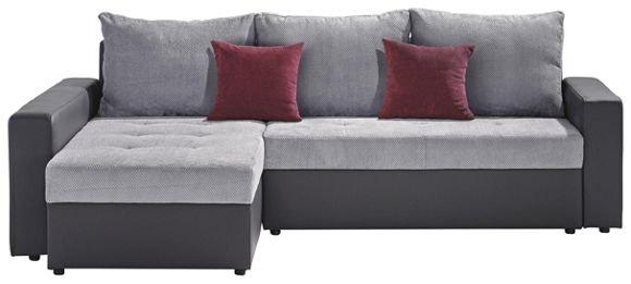 wohnlandschaft mit bettkasten und schlaffunktion xxxl. Black Bedroom Furniture Sets. Home Design Ideas