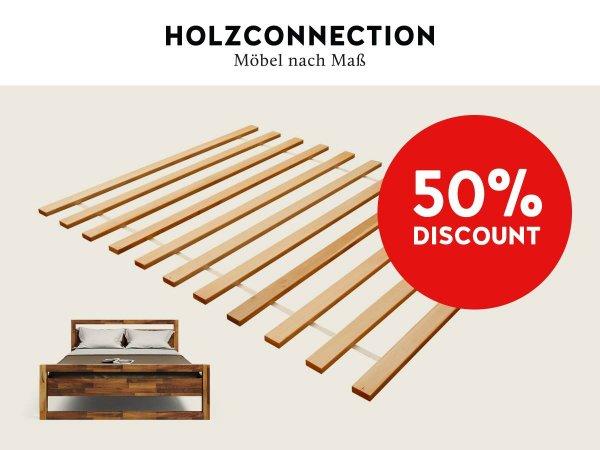holzconnection lattenrost 50. Black Bedroom Furniture Sets. Home Design Ideas